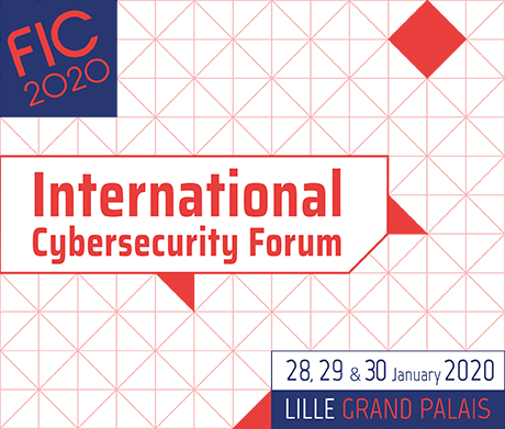 International Cybersecurity Forum (FIC) 2020, Lille, France, Jan 28-30