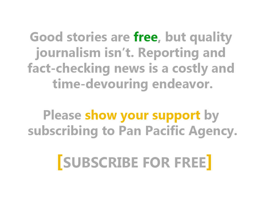 Pan Pacific Agency | Subscribe