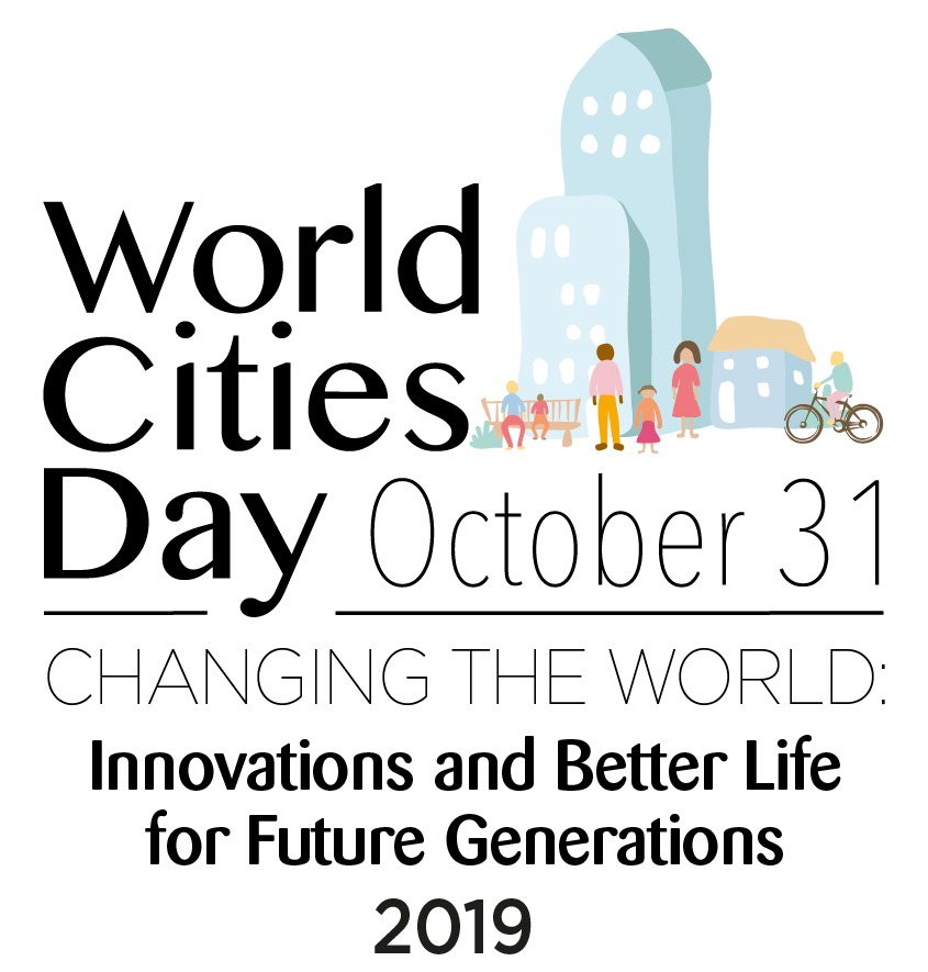 World Cities Day 2019. City of Ekaterinburg, Russia, Oct. 31